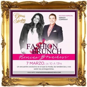 CHICAS GUAPAS presenta FASHION BRUNCH