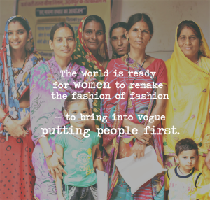 the world is ready for women to remake the fashion