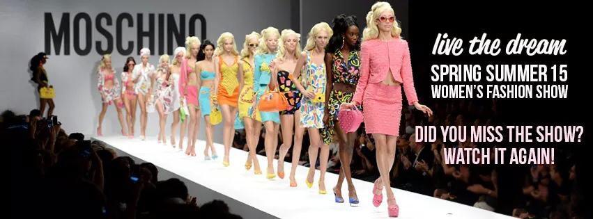 #MFW ¿Barbie, modelo o blogger? ¡MOSCHINO by Jeremy Scott para todos!
