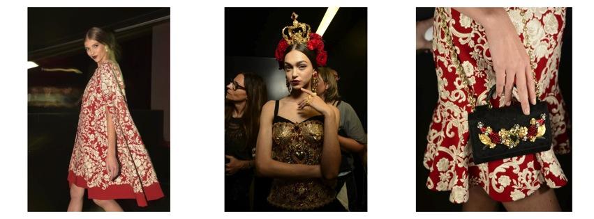 #Fashion La sangre española se apodera del show de Dolce & Gabbana en Milán