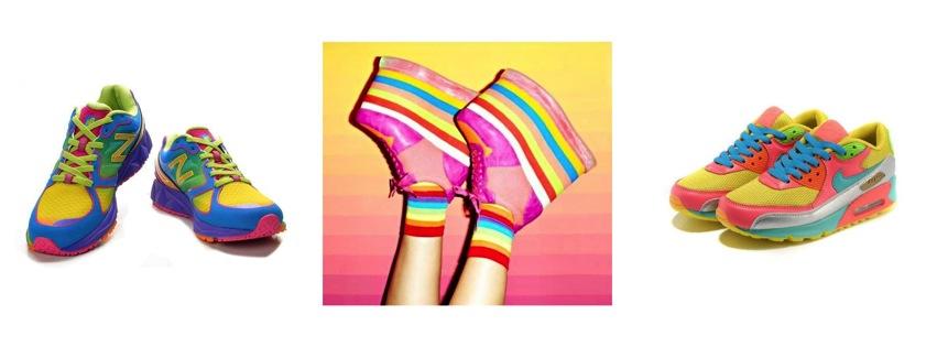 #Trend El rainbow a los pies!