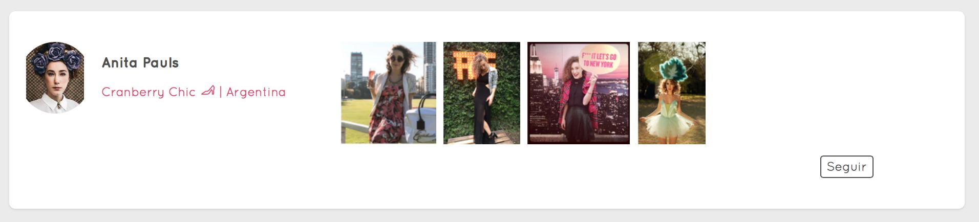 #News Cranberrychic: la nueva red social de moda que tenés que usar