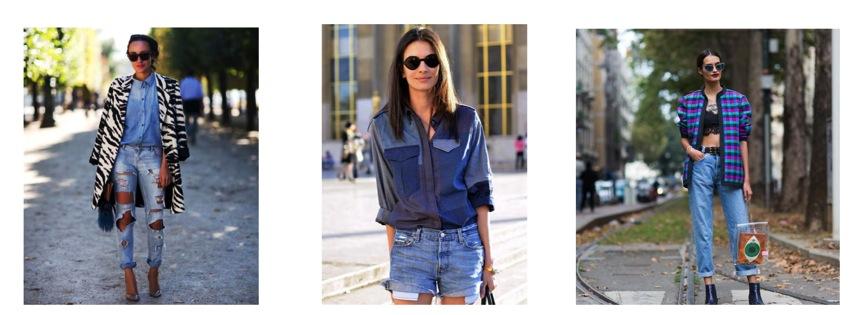 #Fashion Total denim look