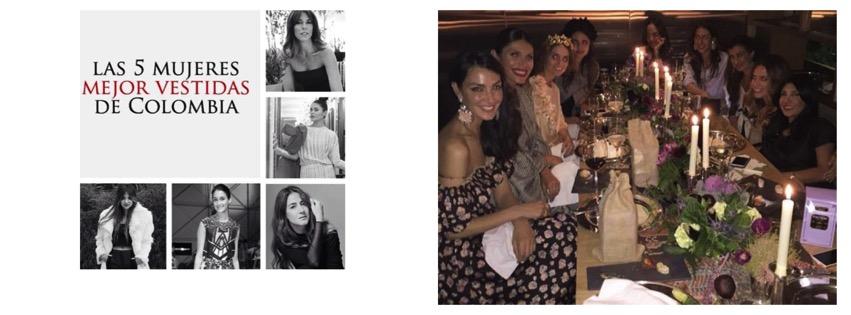 #FashionEvent Las 5 mujeres mejores vestidas de Colombia según VOGUE