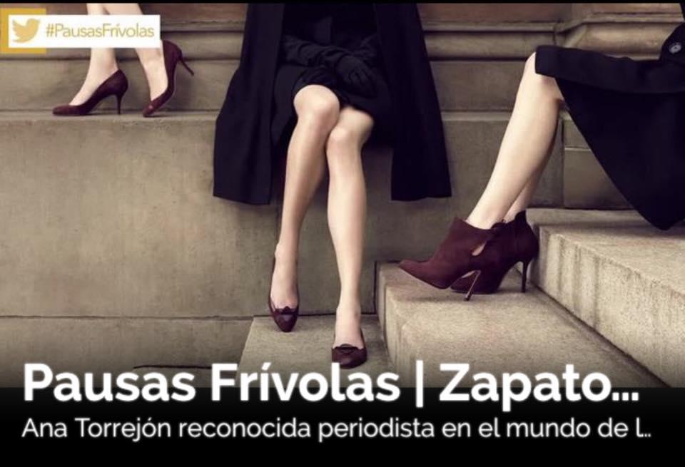 #PausasFrívolas Ana Torrejón charla con nosotras sobre ZAPATOS