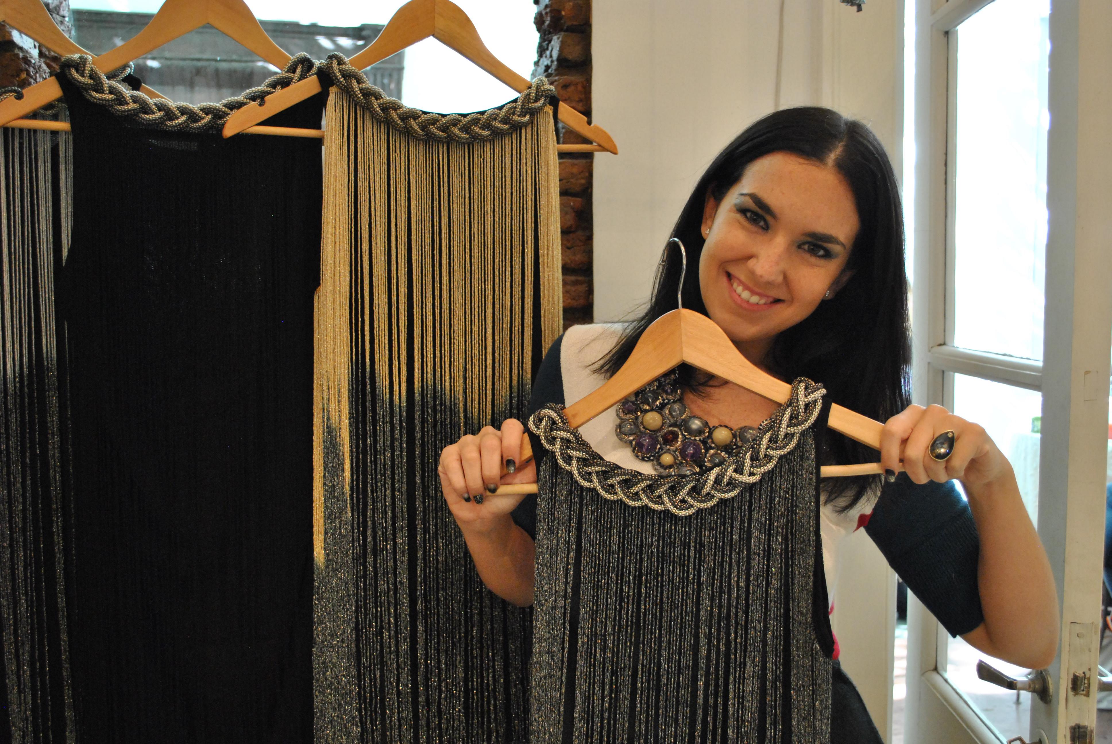 #Fashion Las Rozas AW 15′: tapados y vestidos con detalles rocker & chic