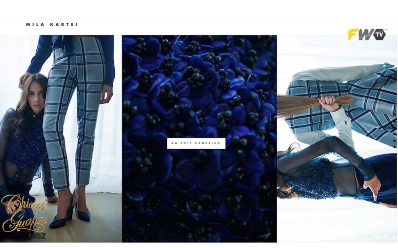 #FashionDesigner High casual & extremada femeneidad en MILA KARTEI