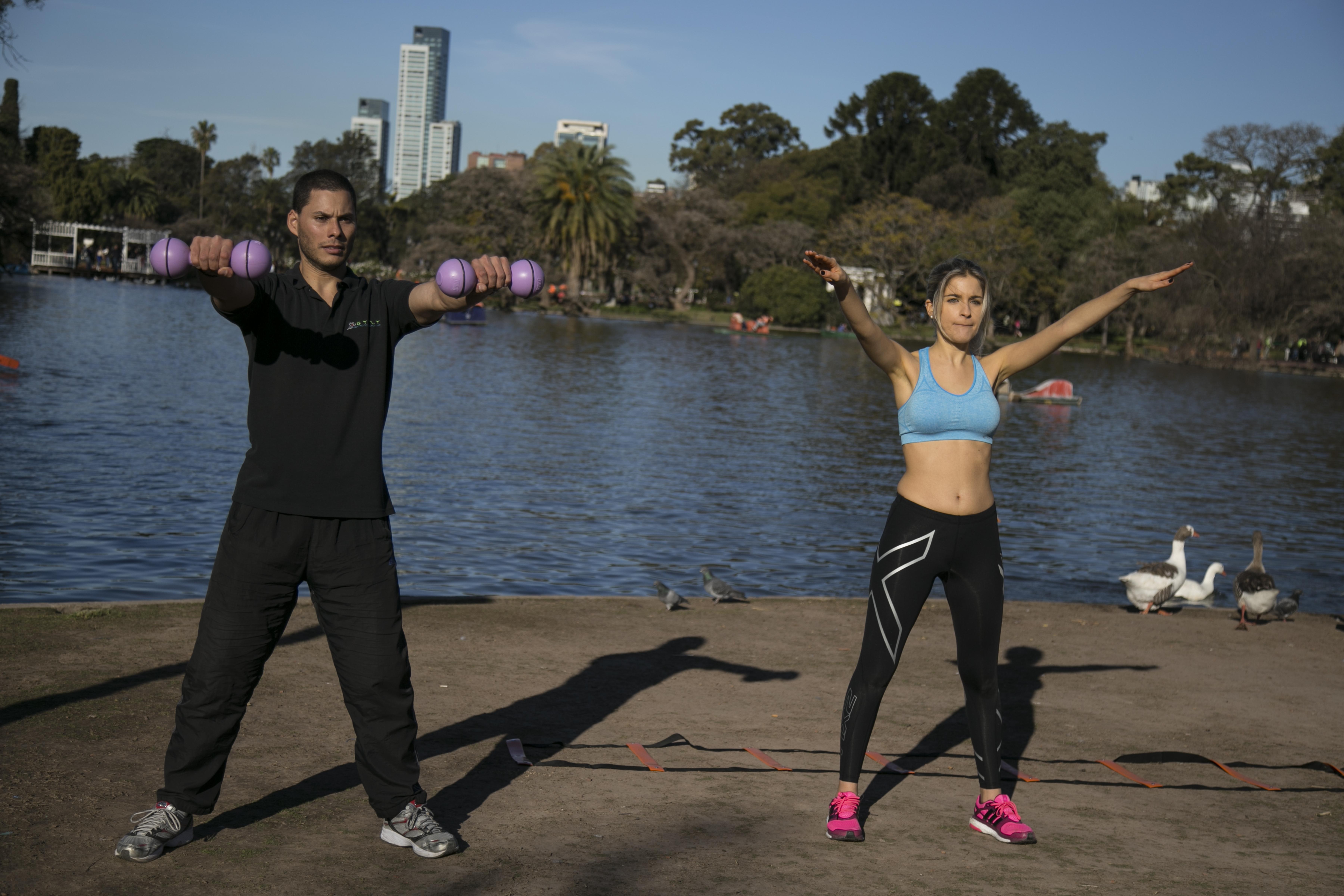 #Fitness 4′ para practicar coordinación y resistencia en casa