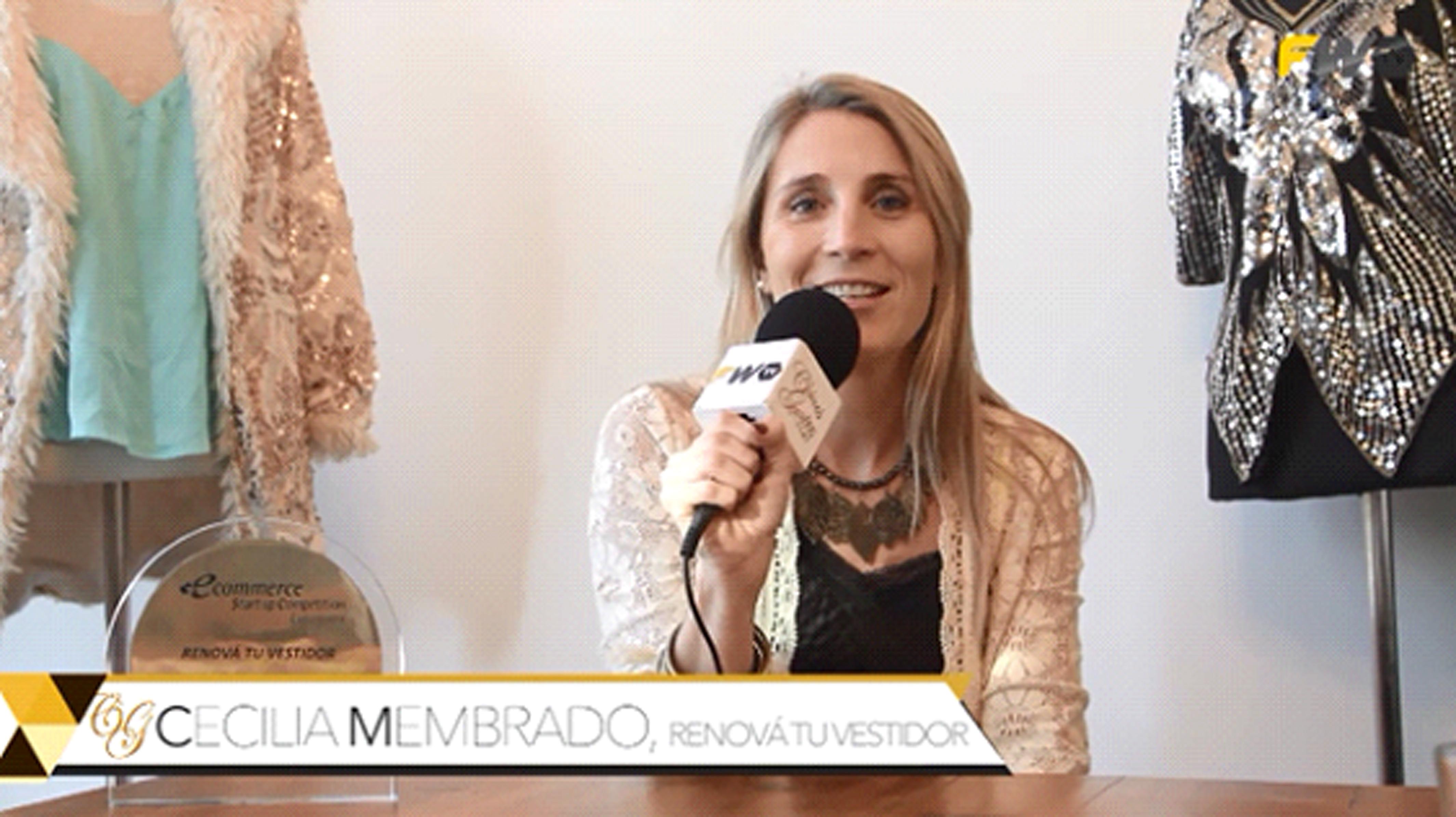 #Emprendedoras Cecilia Membrado te presenta la solución con su emprendimiento  ¡Renová tu vestidor!