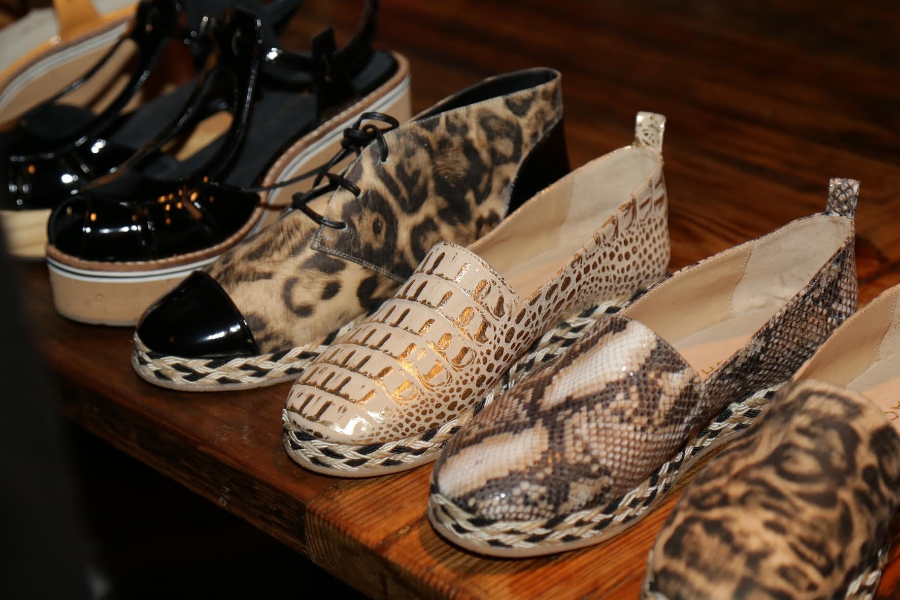 Natacha celebró sus 40 años y presentó su nueva colección de zapatos