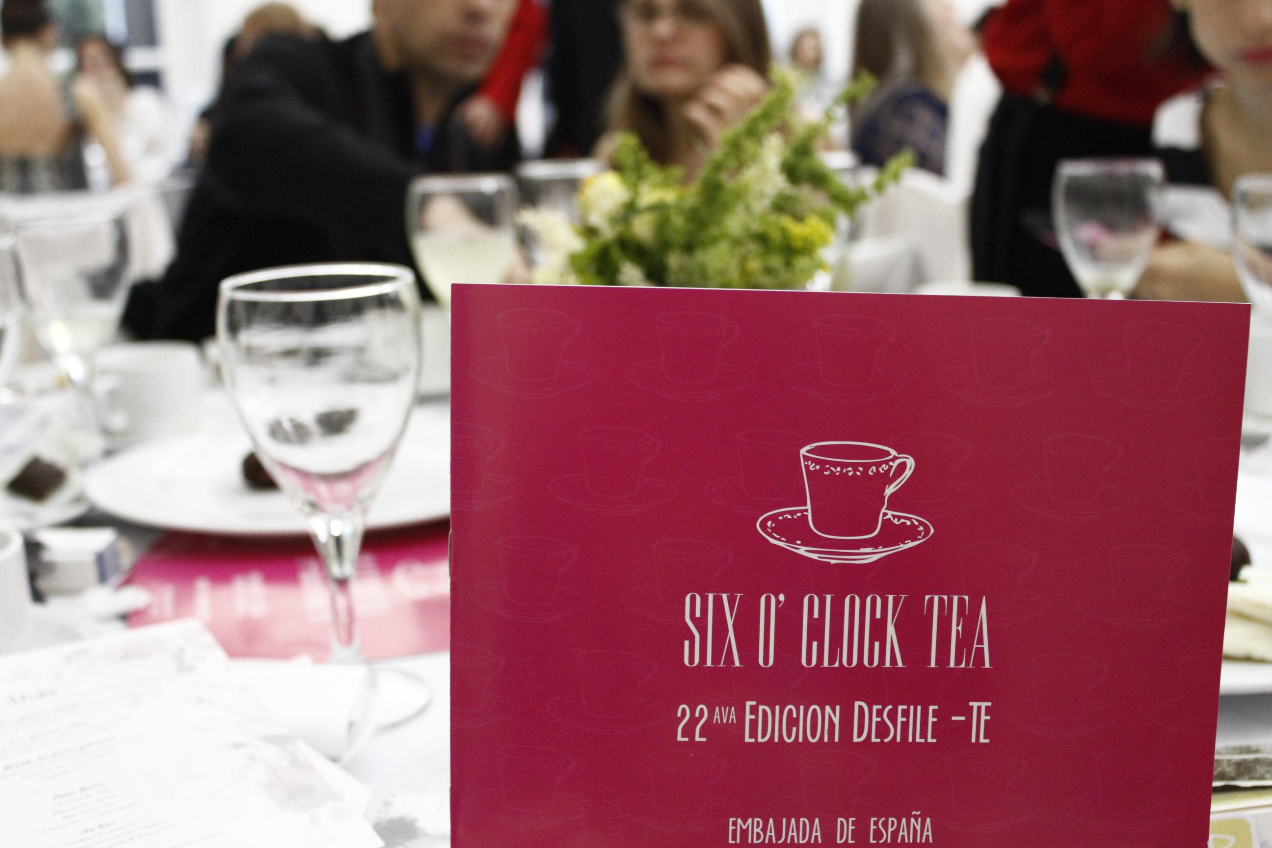 Six o'clock Tea en la Embajada de España en Argentina