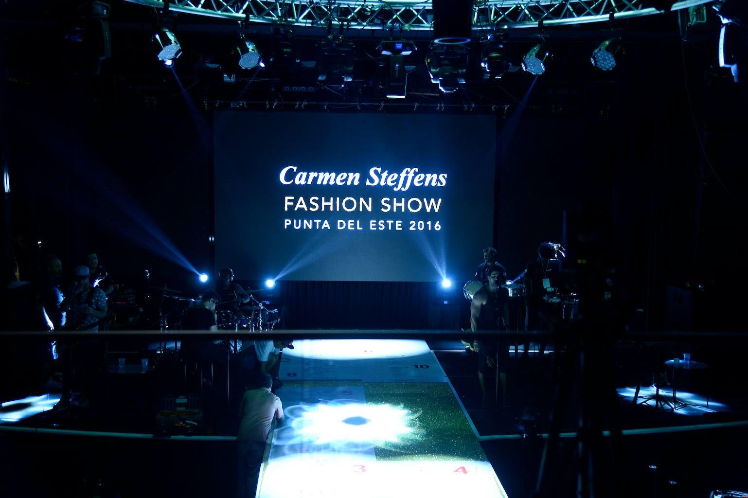 Fashion Show VIP en PDE: Carmen Steffens AW 16′