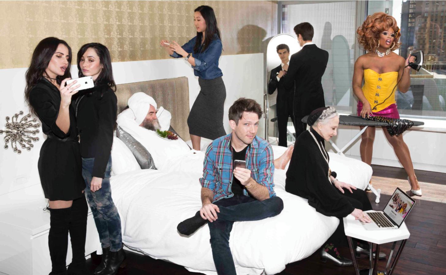 #wPool ¿Compartirías una habitación de lujo con un desconocido?