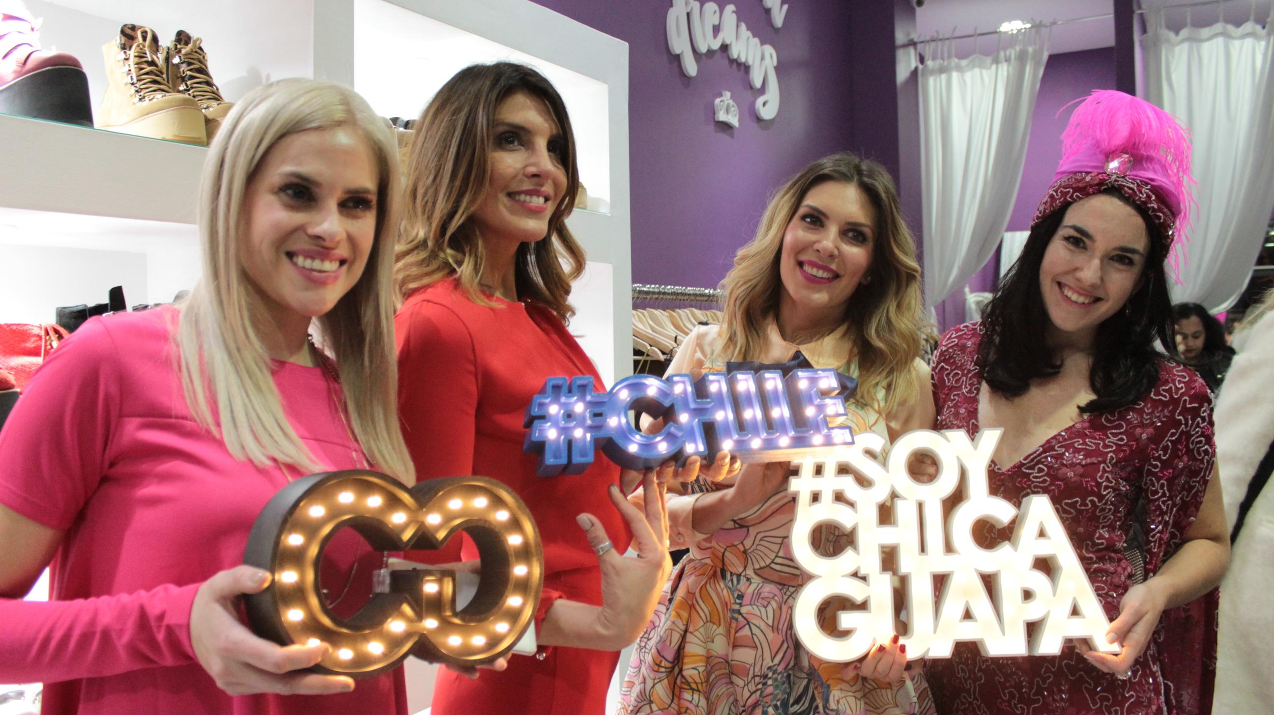 #ChicasGuapasChile Lanzamiento junto a Sofi de Grecia + Delfi Ferrari