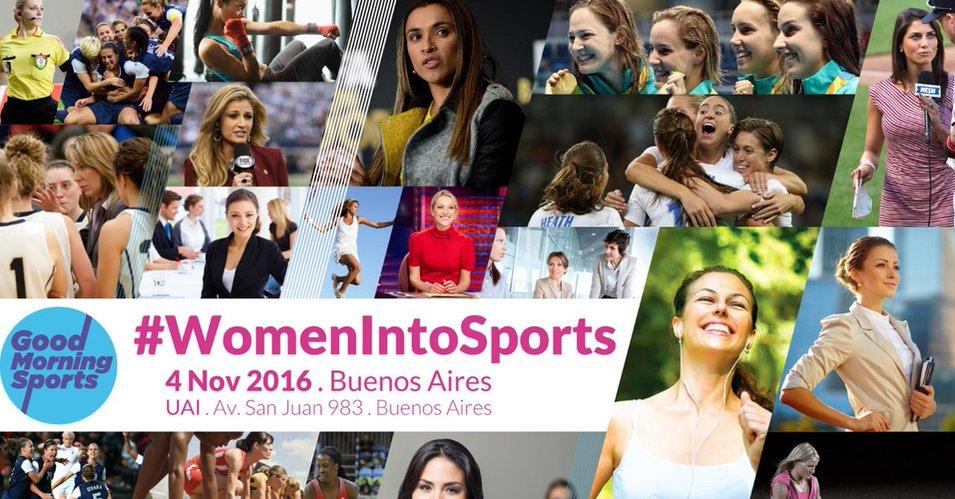 #WomenIntoSports Congreso Latinoamericano de Liderazgo de la Mujer en el Deporte