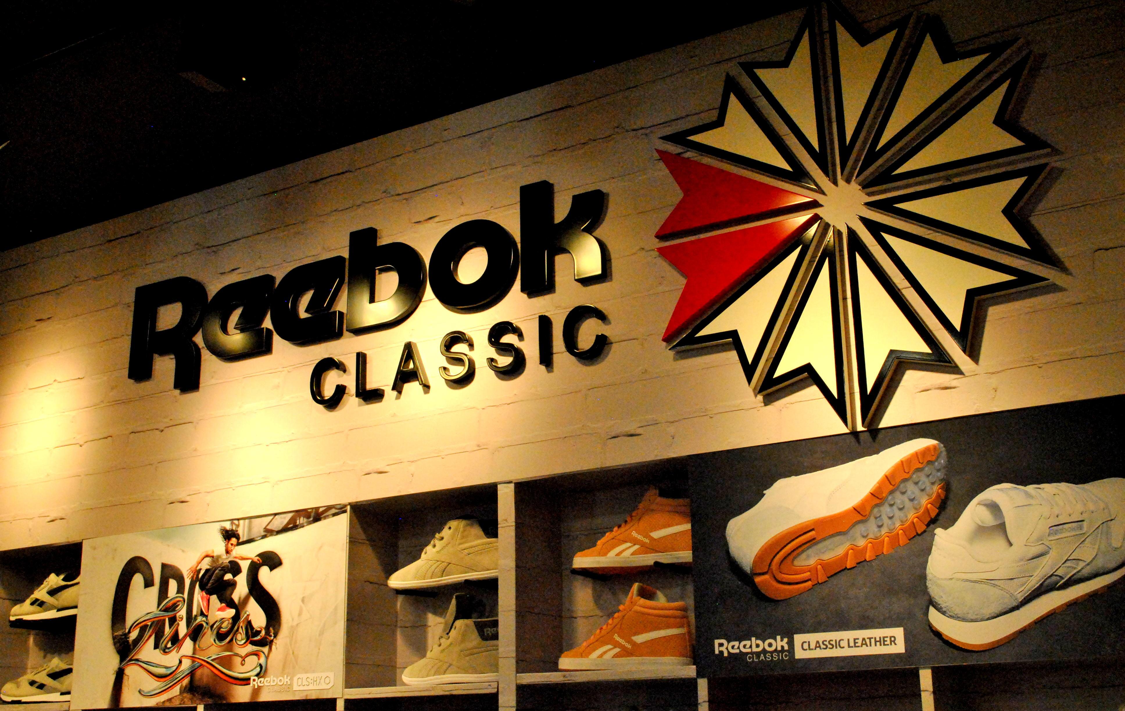 #News Nuevo local exclusivo de Reebok en BA