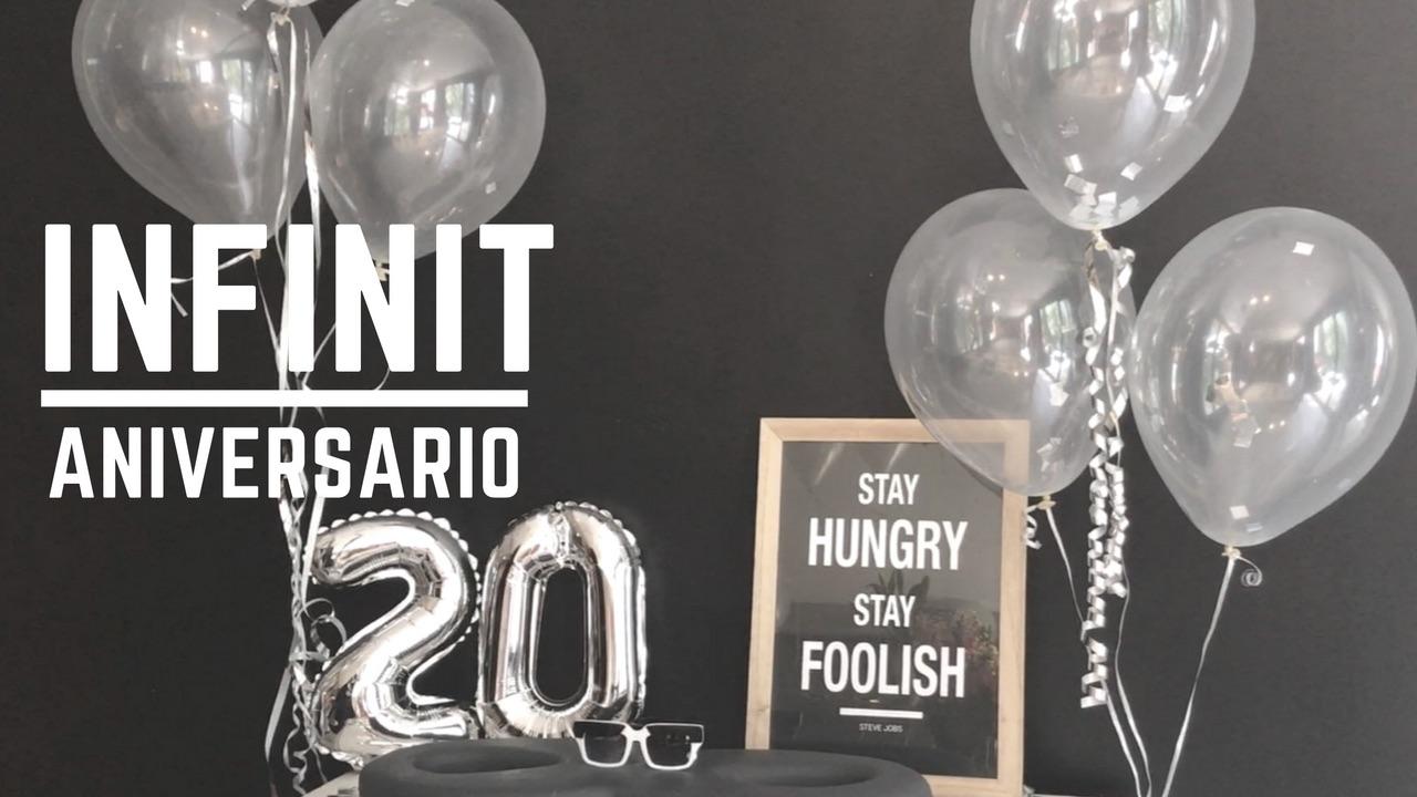 INFINIT Eyewear celebra su 20 aniversario