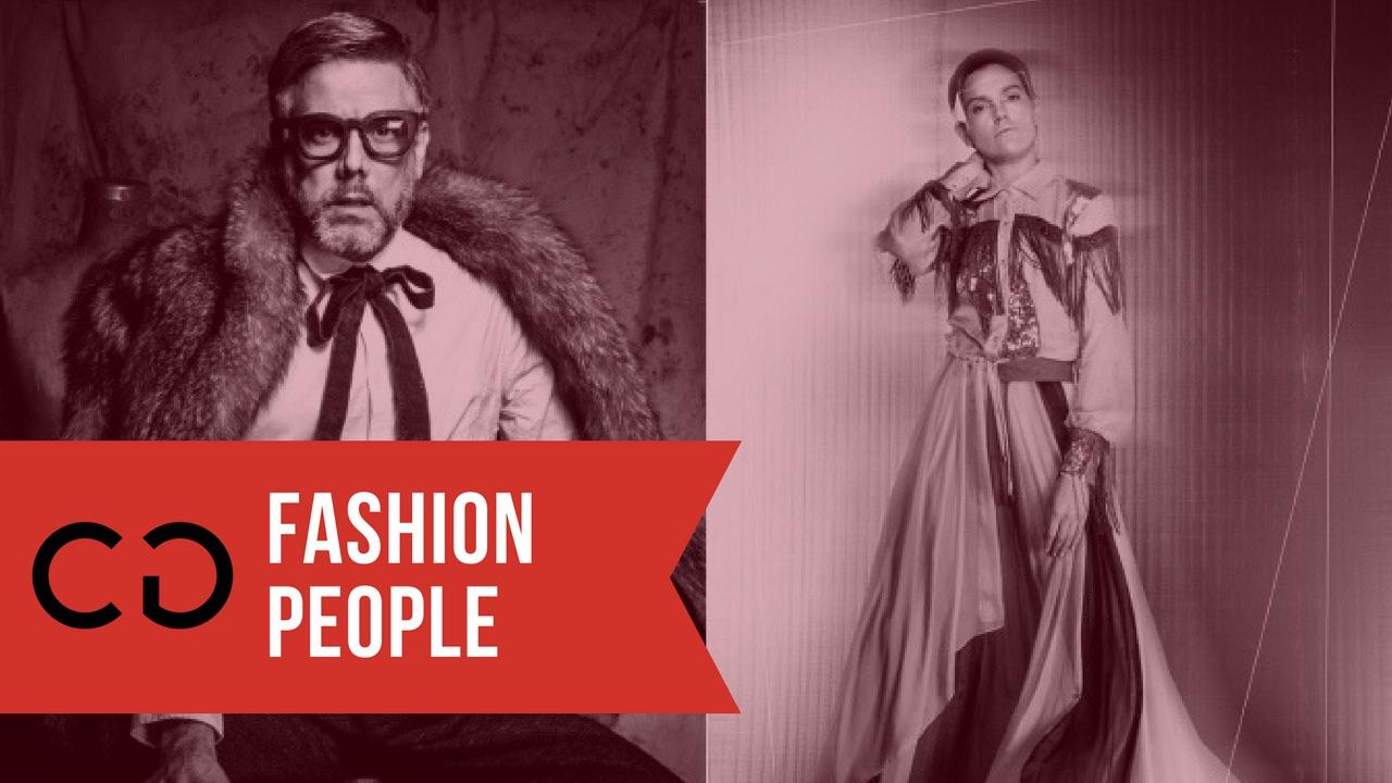 #FashionPeople Fabrizio Celleri x Front Row Ec