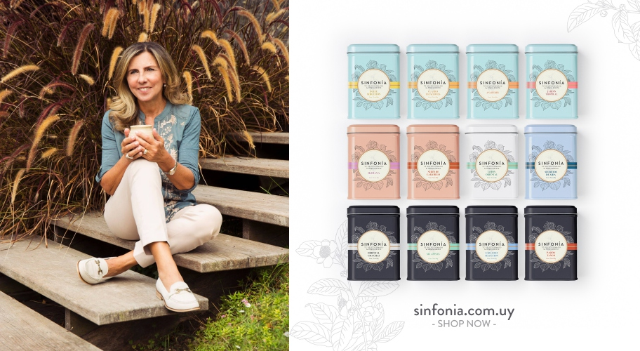 #Emprendedoras Sinfonía: Tés Gourmets by Mónica Devoto