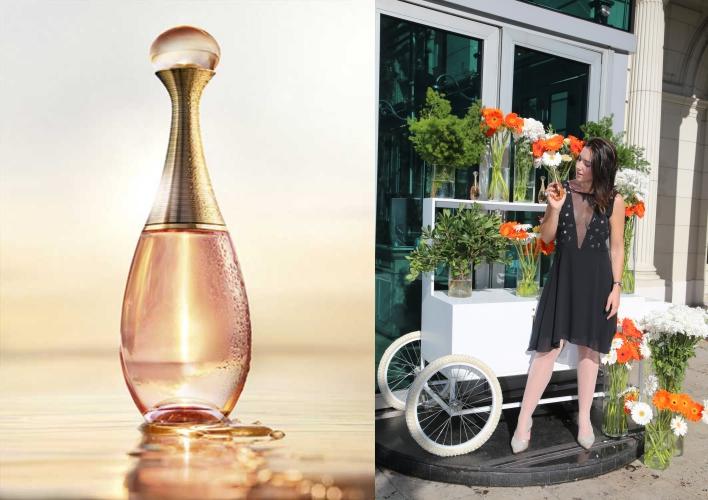 Una nueva versión alegre y fresca de J'adore by Dior