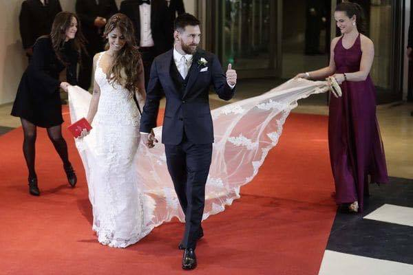 #LuxeUp La Moda en la Boda de Messi
