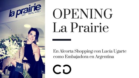 Nueva boutique de La Prairie en Alcorta Shopping