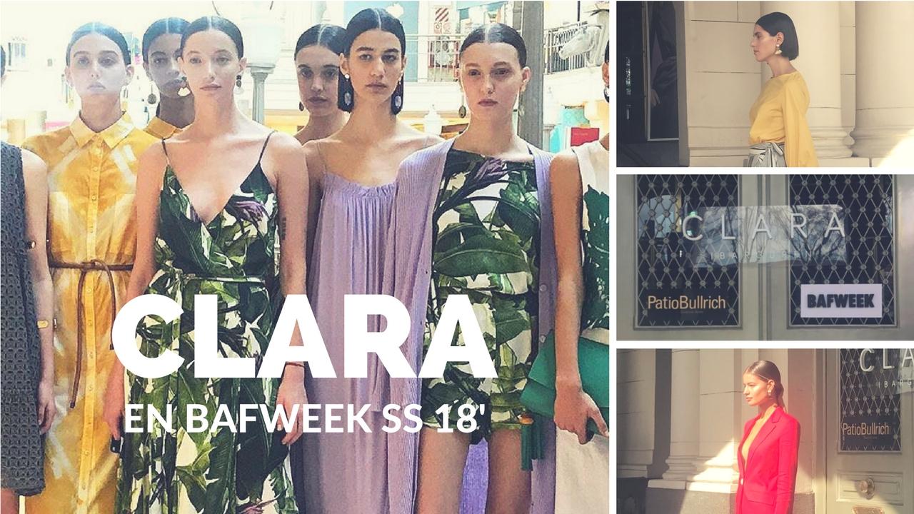 Clara: una colección fresca, clásica y colorida