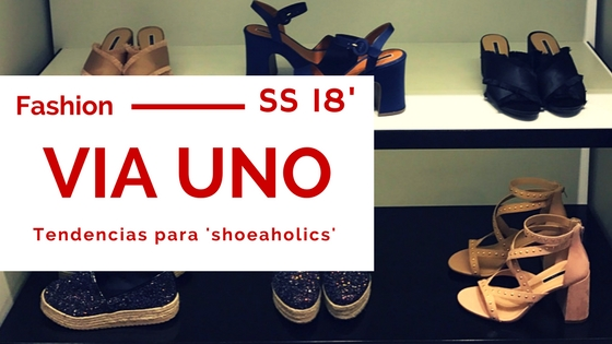 Tendencias para 'shoeaholics' por VIA UNO