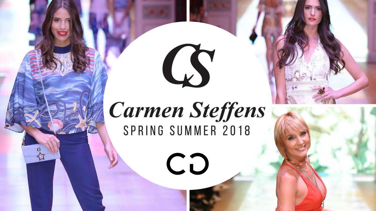 Carmen Steffens presentó su Verano 2018 en el Alvear