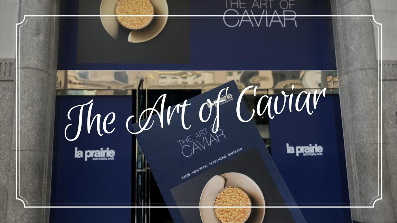 """""""The Art of Caviar"""" la Exhibición de Arte Internacional de La Prairie"""