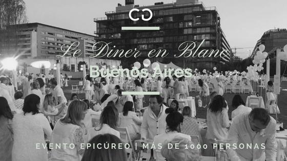 """Buenos Aires celebró su primera """"Diner en Blanc"""""""