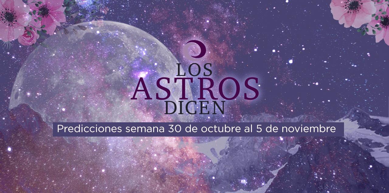 #Astros Predicciones del 30 de octubre al 5 de noviembre