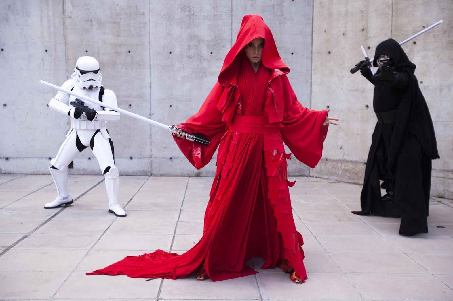 Dos diseñadoras unieron sus fuerzas para una producción inspirada en Star Wars