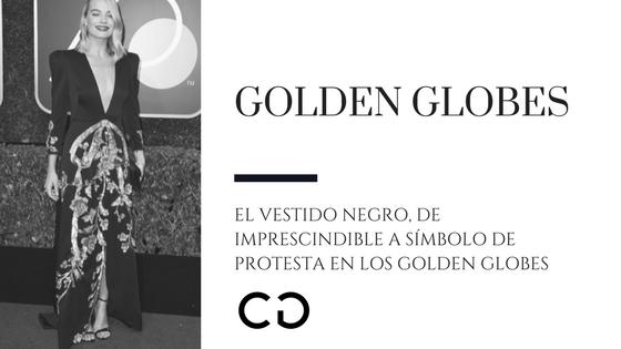 El vestido negro, de imprescindible a símbolo de protesta en los Golden Globes