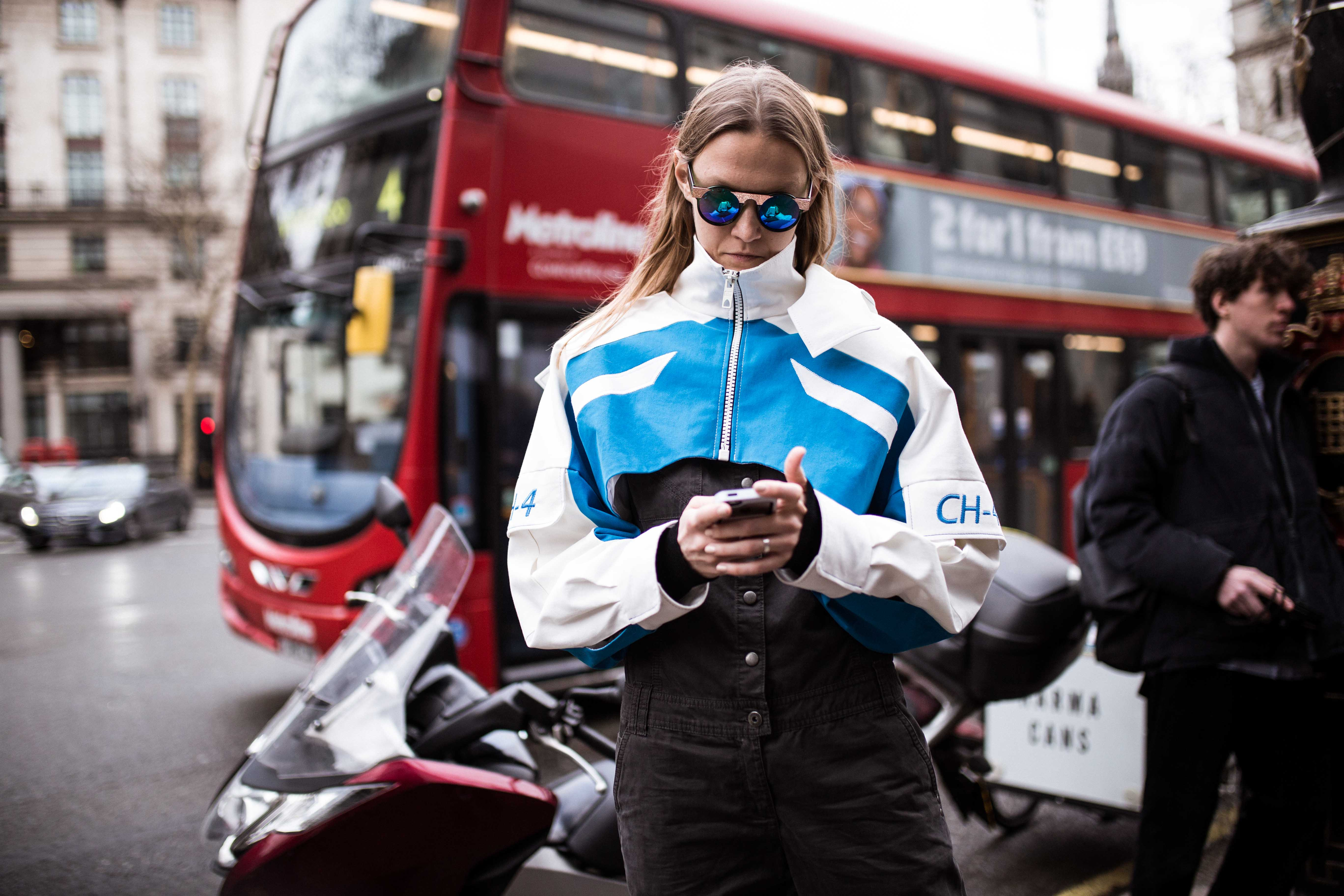 Street Style desde Londres Fashion Week