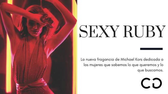 Descubrí tu lado más sensual con Sexy Ruby de Michael Kors
