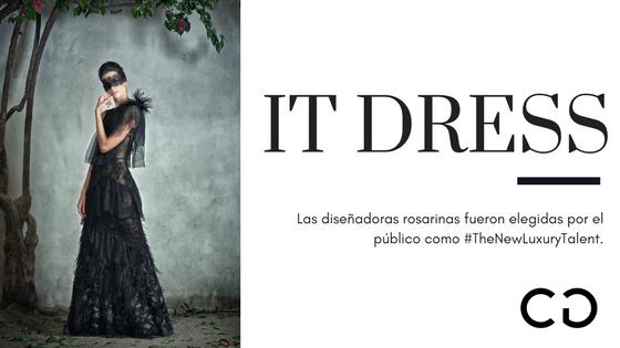 It Dress es el primer #TheNewLuxuryTalent elegido por el público