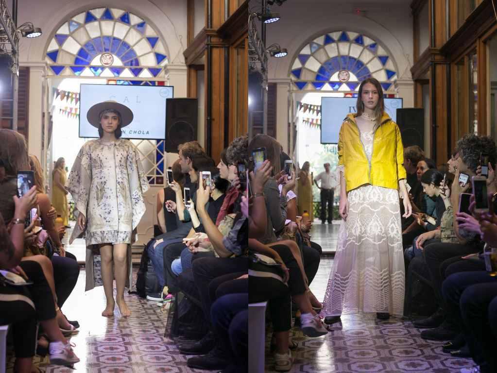 Positive Label realizó el primer desfile de moda reciclada de autor de Argentina
