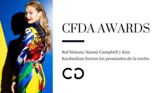 CFDA AWARDS 2018: Los mejores vestidos y protagonistas de la moda
