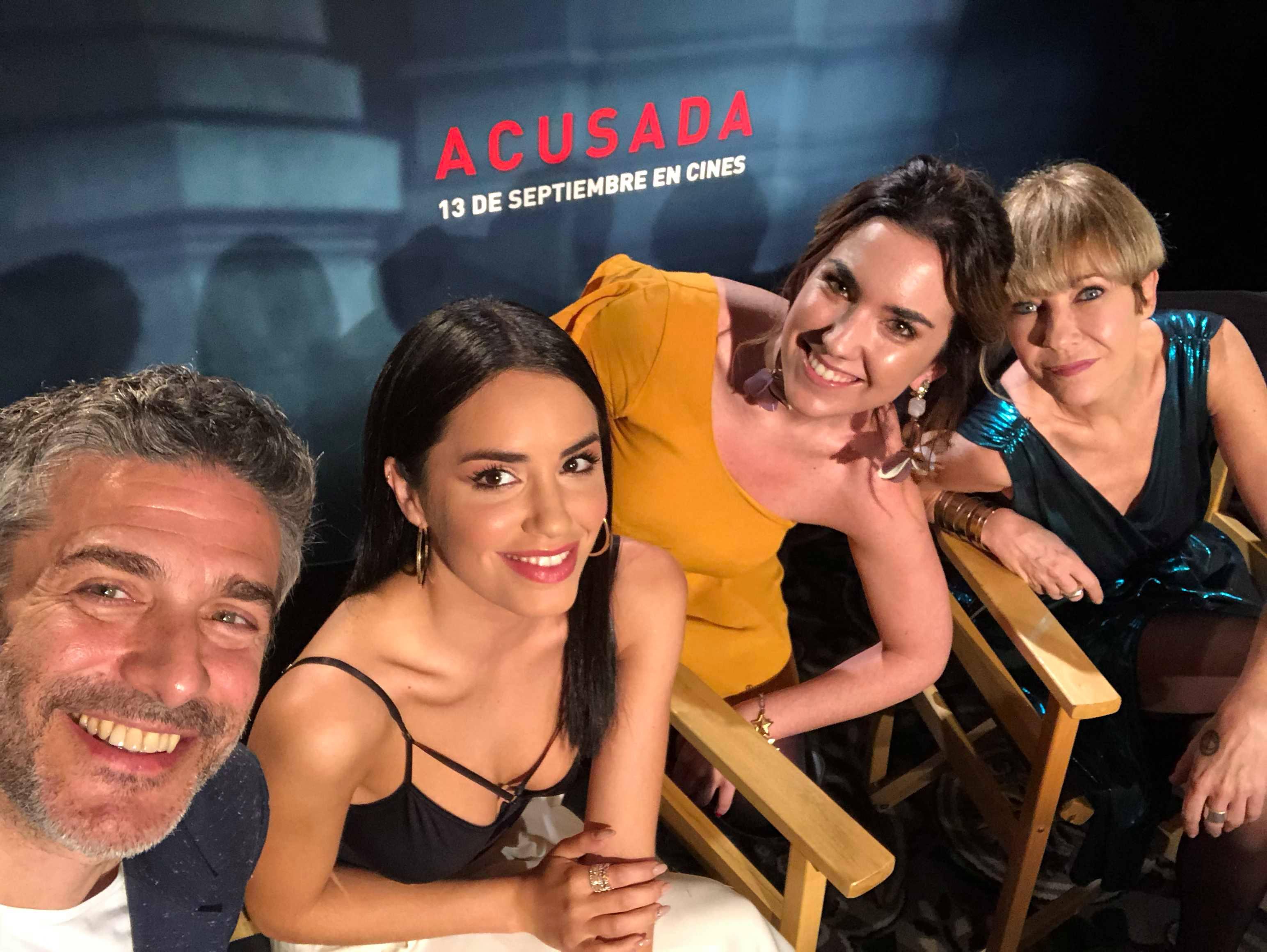 EXCLUSIVO: Lali Espósito, Leo Sbaraglia e Inés Estévez presentan ACUSADA