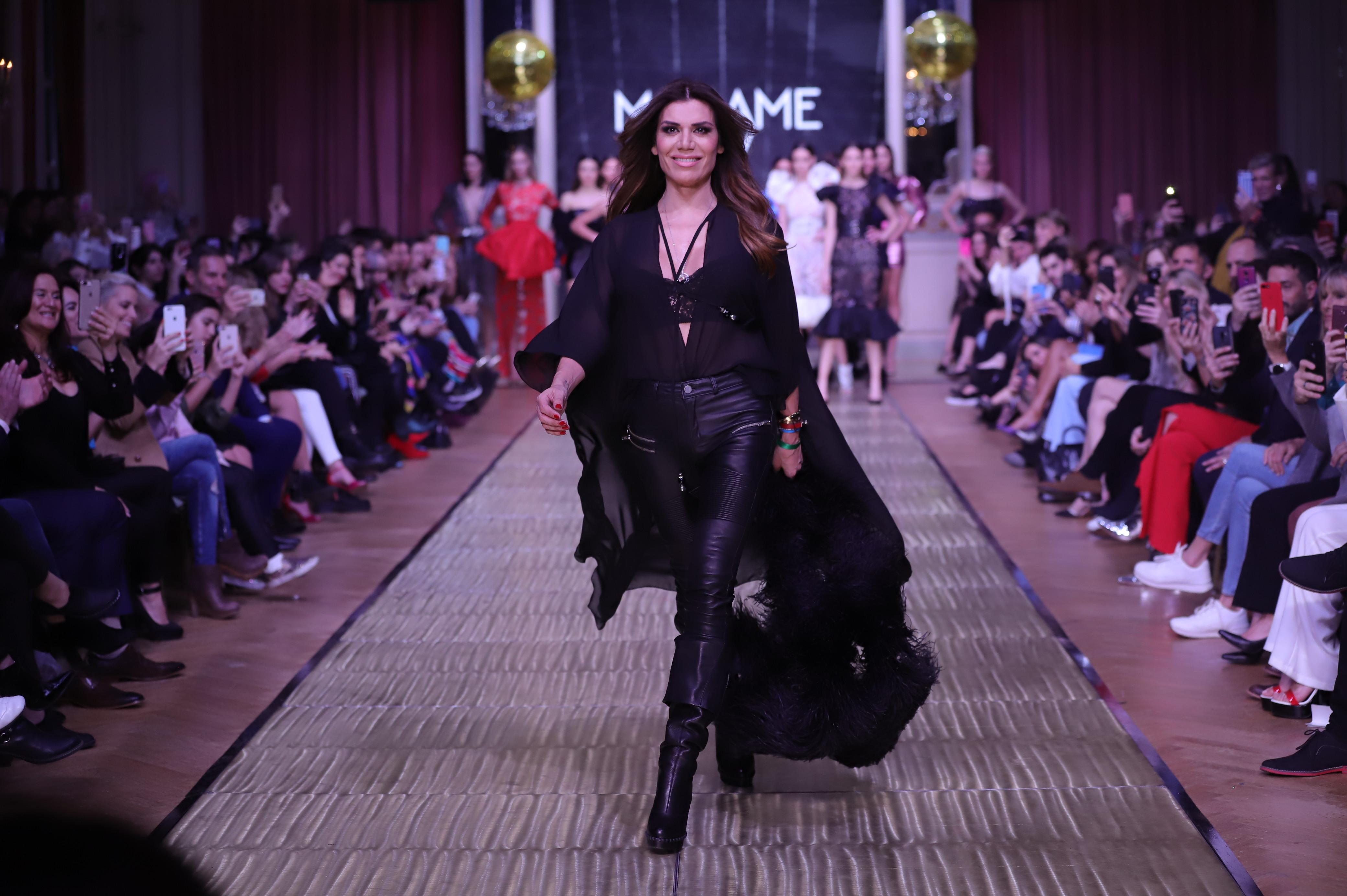 Flor de la V se lanza como diseñadora en Argentina Fashion Week