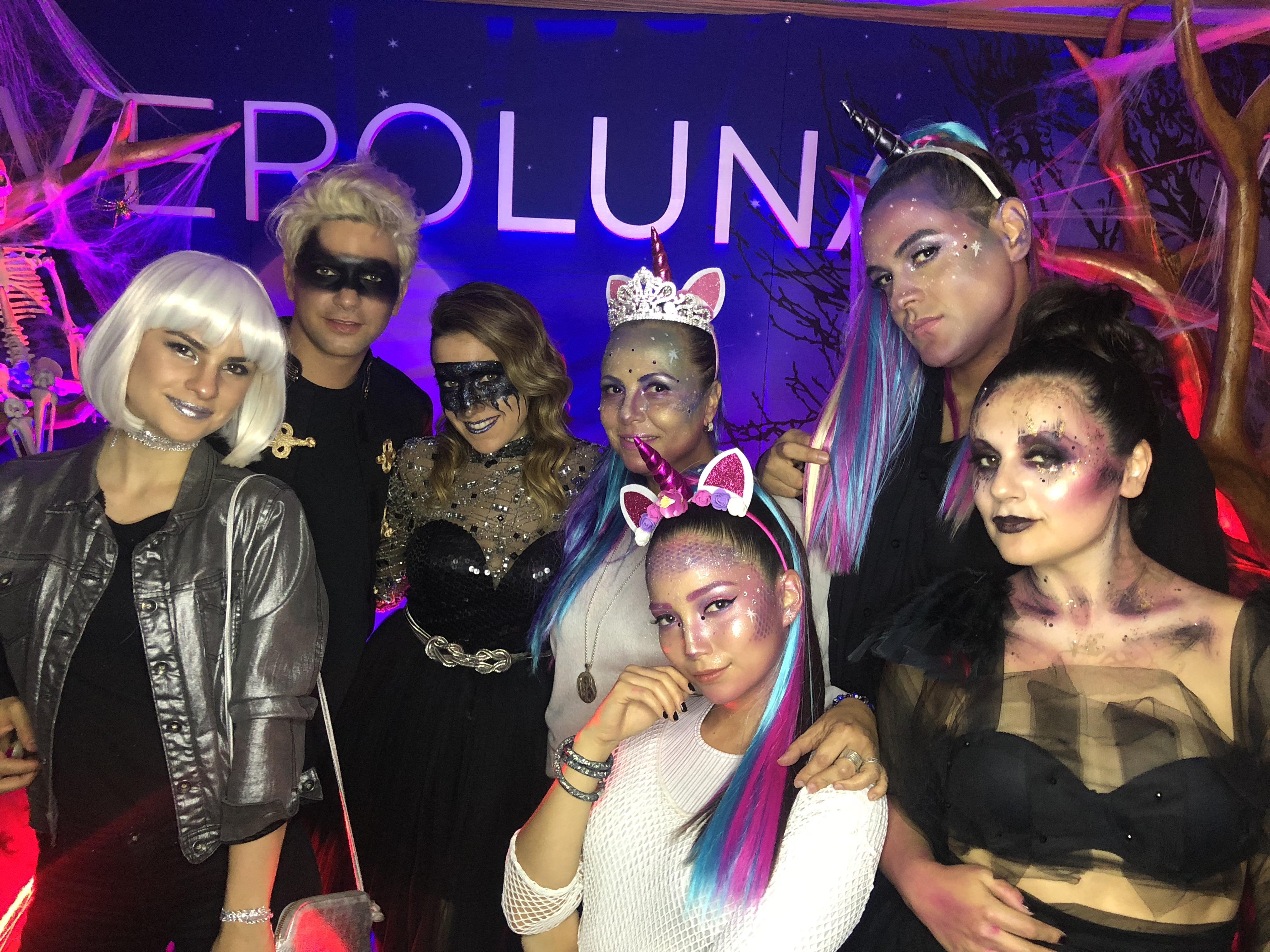 CG & MAC celebraron la primera fiesta de Halloween dedicada al Makeup