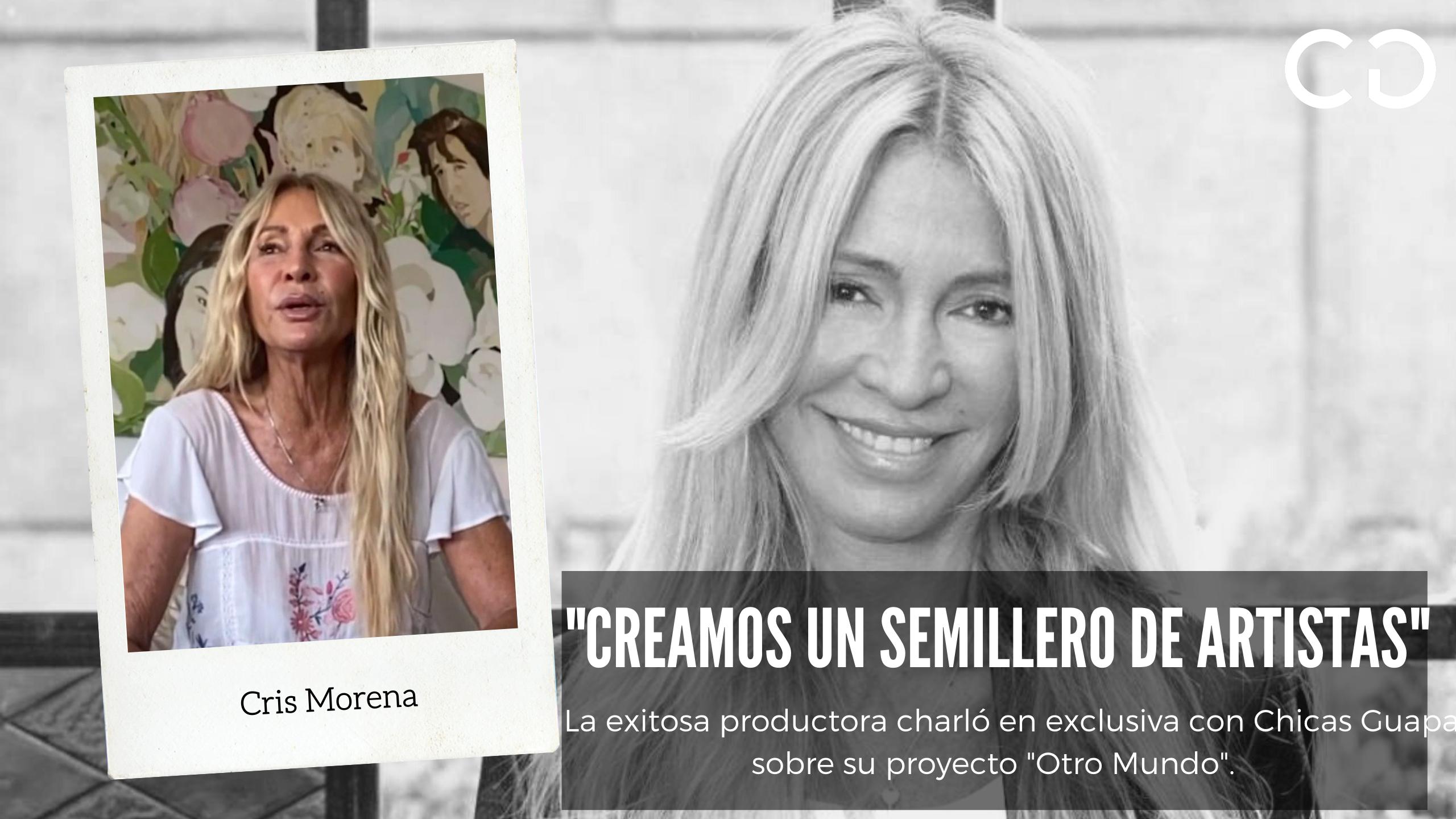 Reviví el programa 16 con Cris Morena y su nuevo proyecto «Otro Mundo»