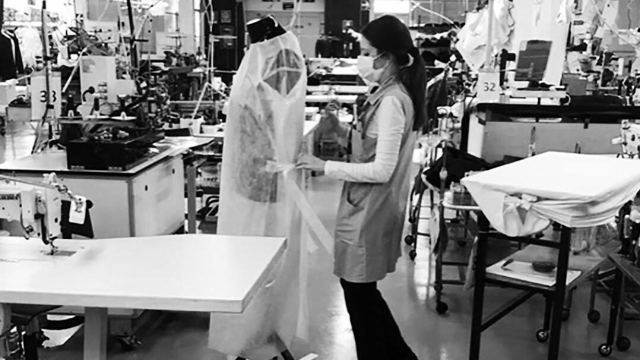 ¿Cómo ayuda la industria de la moda en tiempos de crisis?