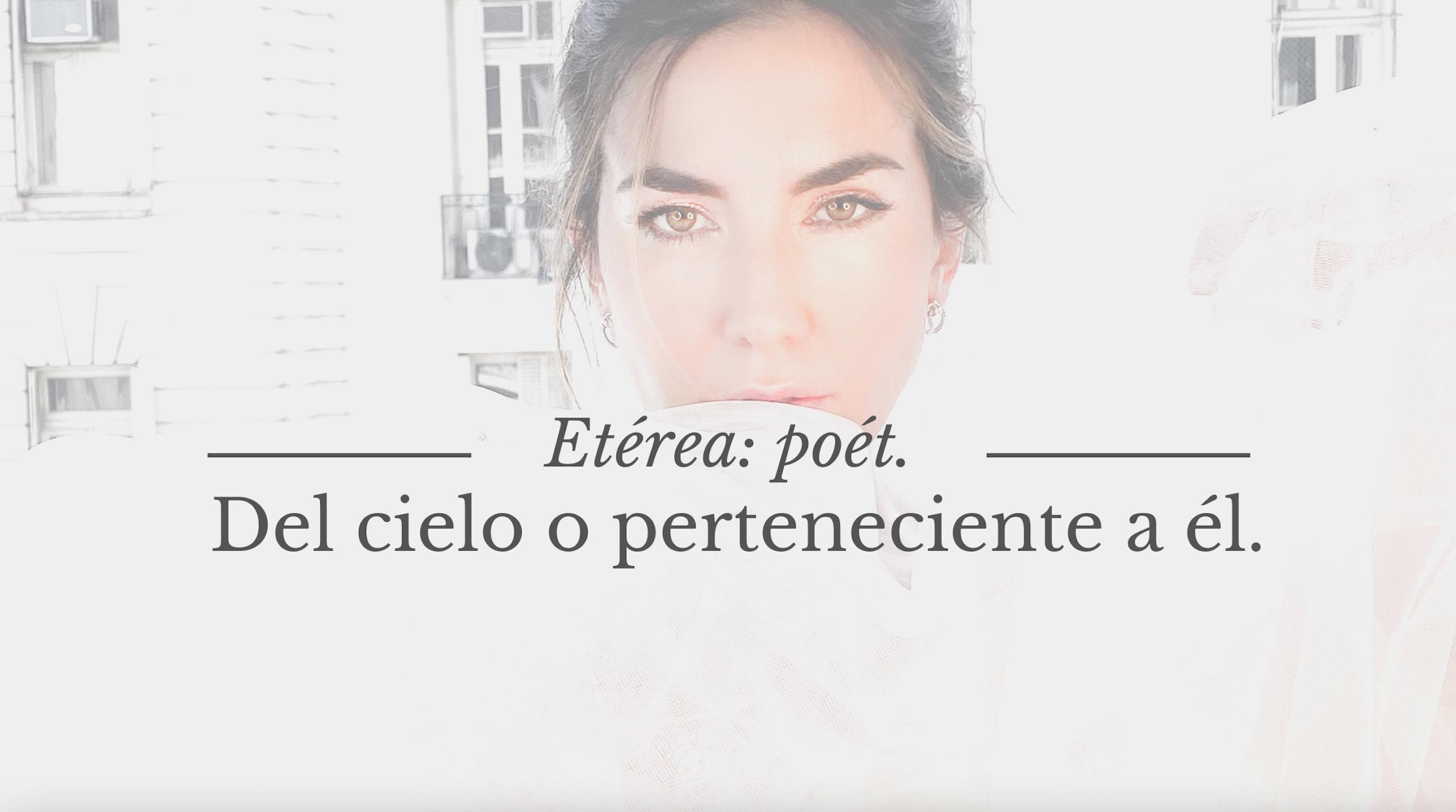 #Poesía La Mujer Etérea