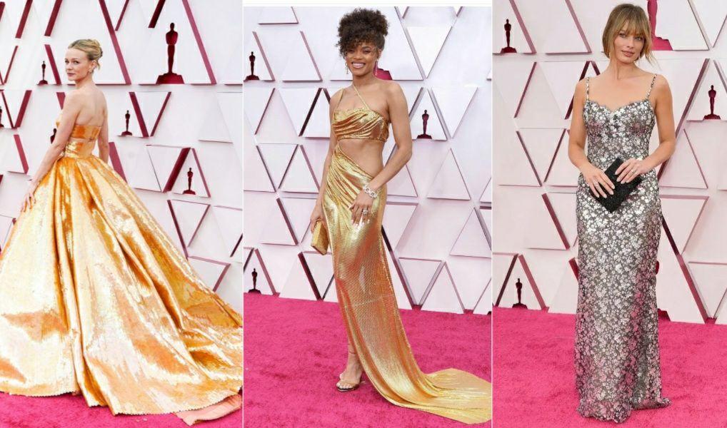 Las tendencias y los looks que triunfaron en la alfombra roja de los Oscar