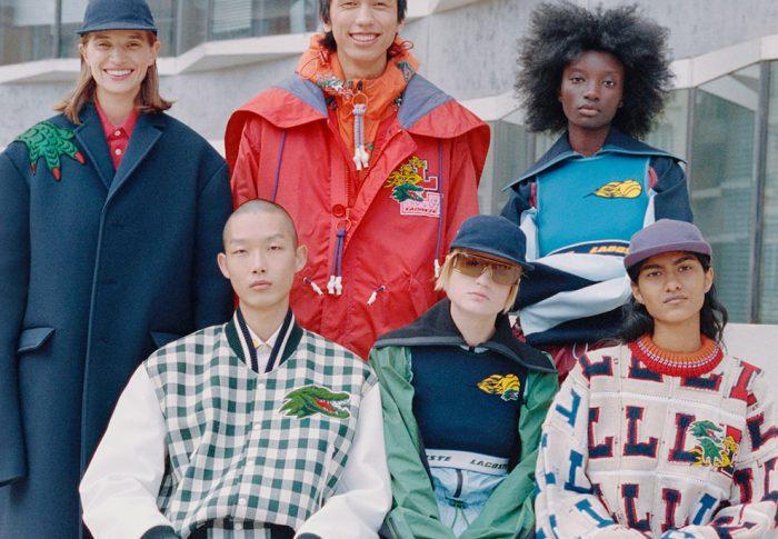 Lacoste suma a su campaña modelos andróginos