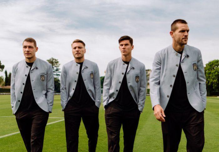La moda y el deporte: EMPORIO ARMANI viste a la selección italiana de fútbol