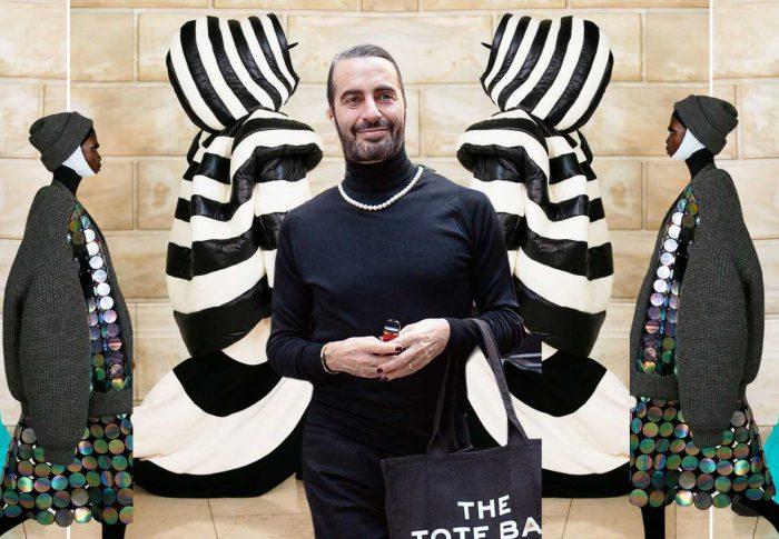 Marc Jacobs contagia felicidad en Nueva York desde Bergdorf Goodman