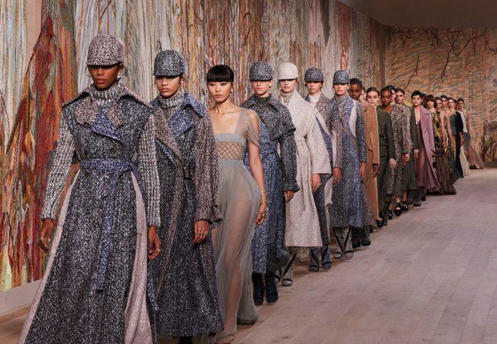 Dior homenajea el tejido y bordado en Haute Couture